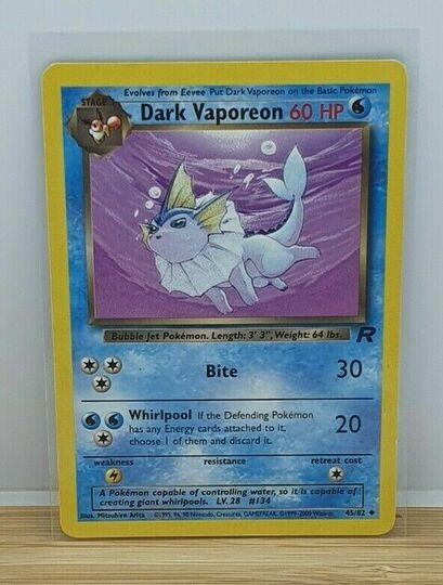 dark vaporeon 45/82
