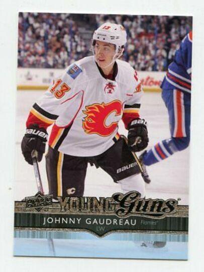 2014-15 Upper Deck Johnny Gaudreau Young Guns