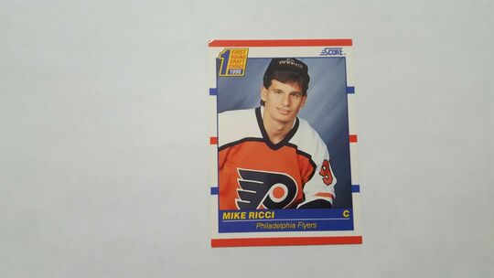 1990-91 Score Mike Ricci Rookie