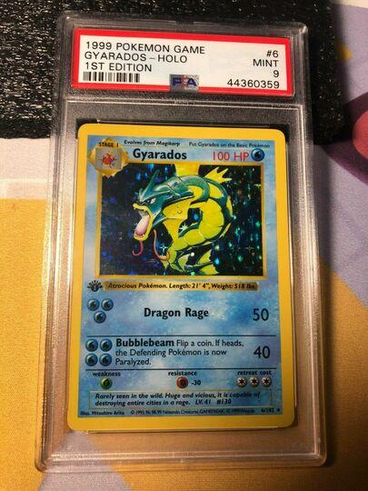 Pokemon 1st Edition Base Gyarados