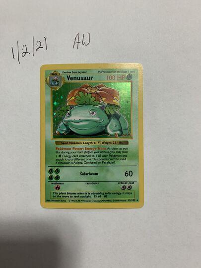 Venusaur shadowless 15/102