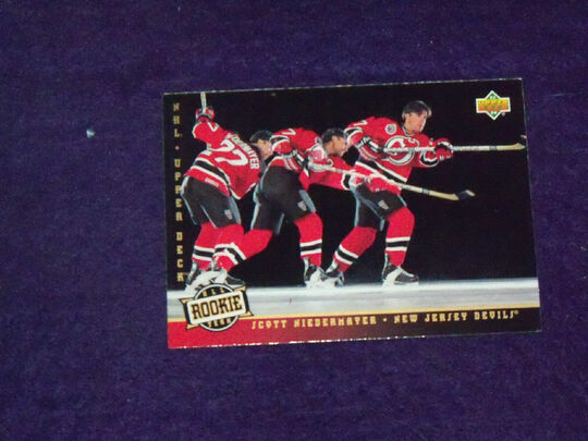 1993-94 Upper Deck Scott Niedermayer 284