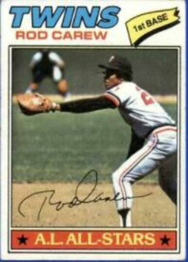 1977 Topps Rod Carew #120 VG