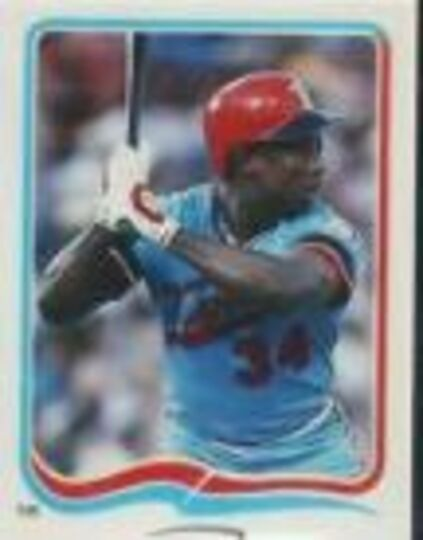 1985 Fleer Star Kirby Puckett #122 Rookie Sticker