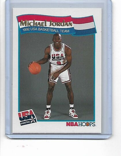 michael jordan nba hoops 91#55