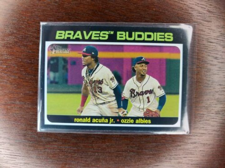 Braves Cards Collection Image