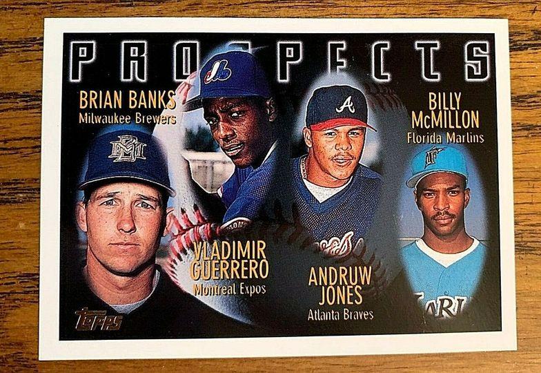 Guerrero Jones Topps Prospects 1996