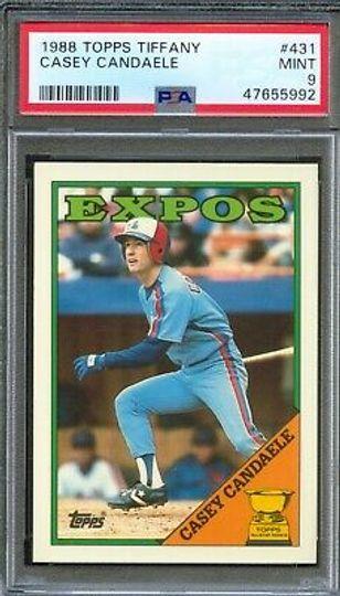 1988 Topps Casey Candaele #431