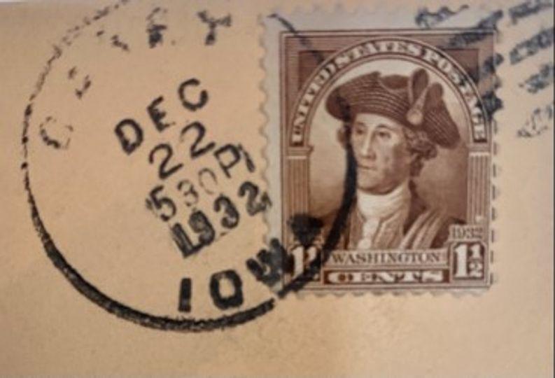 1 1/2 cent washington