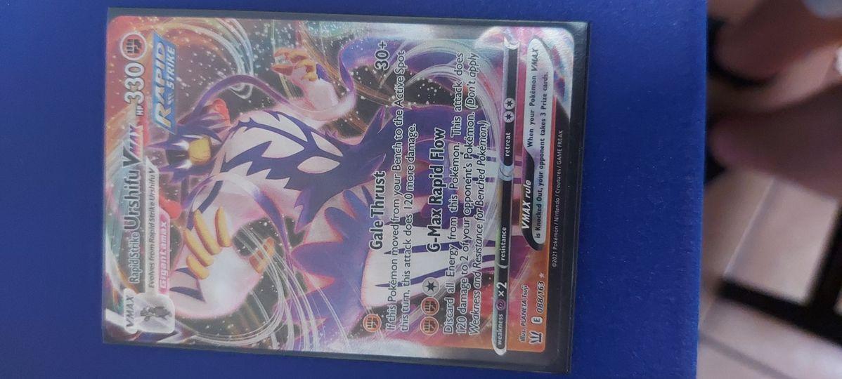 rapid strike urshifu vmax 088/163