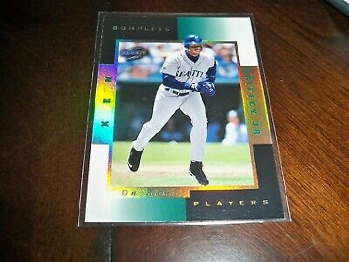 1997 ken griffey jr complete players on base