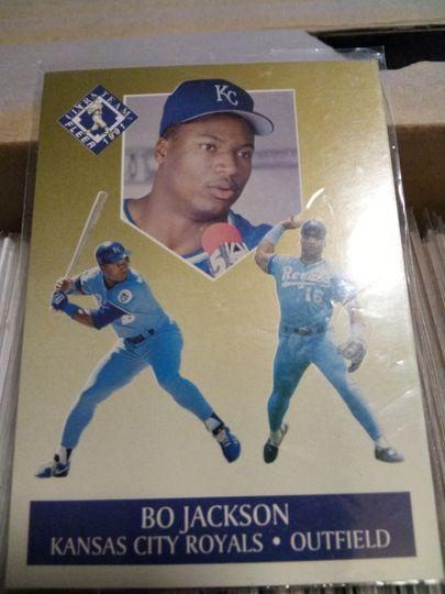 1991 fleer bo jackson #6