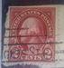 red washington stamp