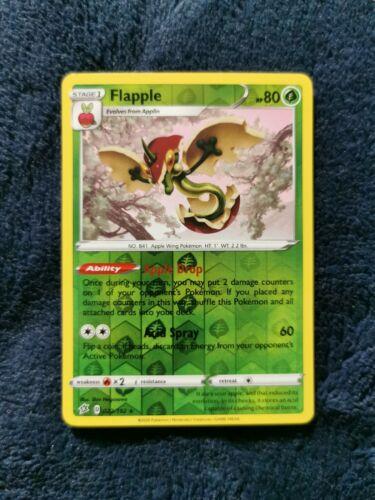 022//192 Flapple Rare Reverse Holo Rebel Clash