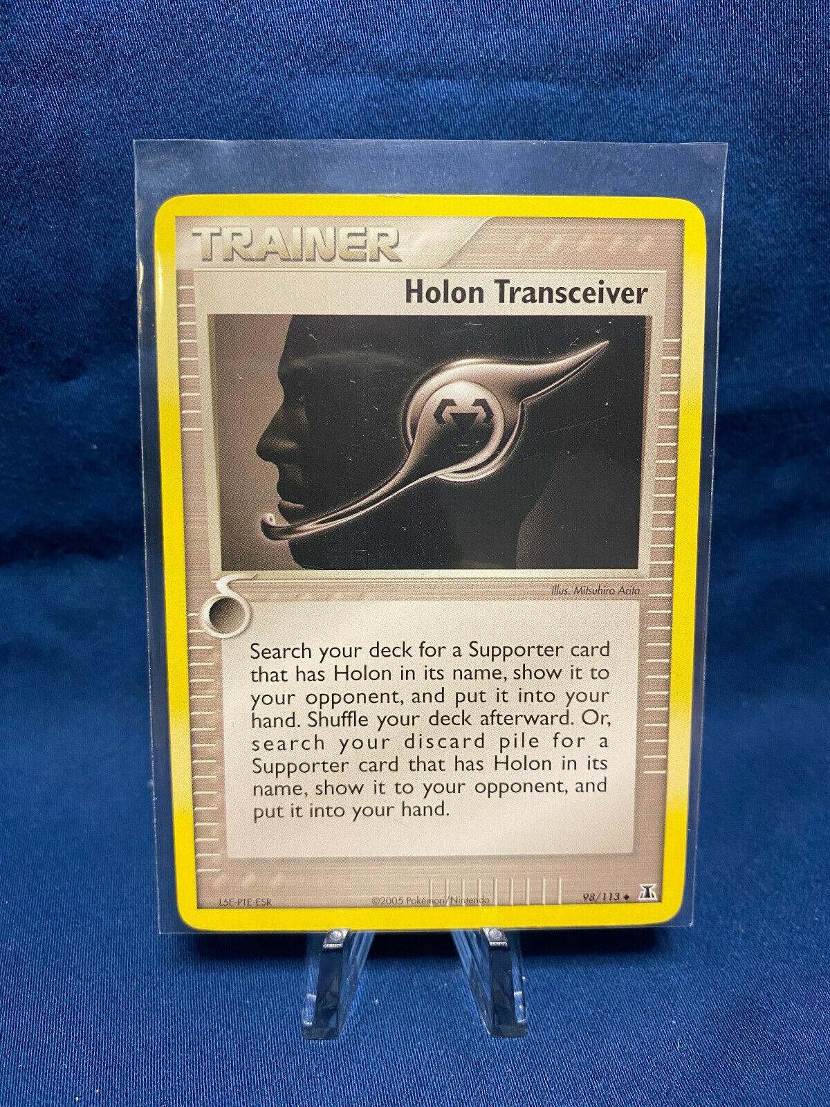 Holon Transceiver Delta Species Pokemon Card Trainer 98//113lp-nm