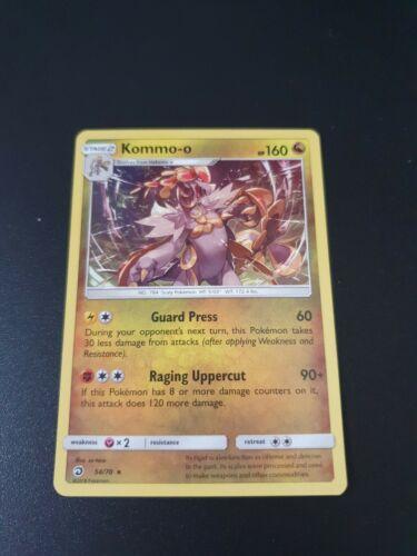 Pokemon - Kommo-o 54/70 - Dragon Majesty - Holo Rare - Pokémon card