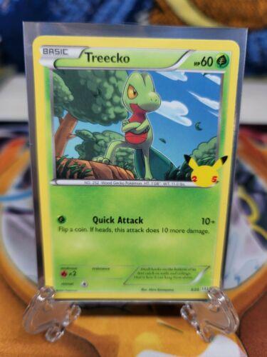 2021 Pokemon McDonald's 25th Anniversary Promo Treecko Non-Holo Card #3/25