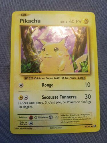 Pikachu 35//108 Near Mint NM XY Evolutions Pokemon Card