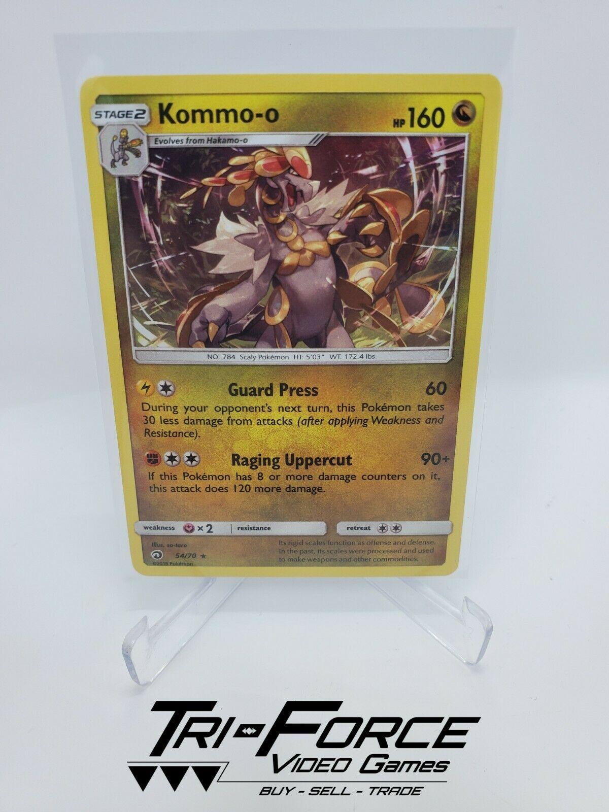 Kommo-o 54/70 Pokemon Card TCG Fast Shipping N-Mint Holo