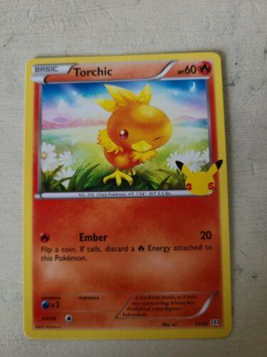 Pokemon Card Torchic 11/25 Non-Holo McDonald's