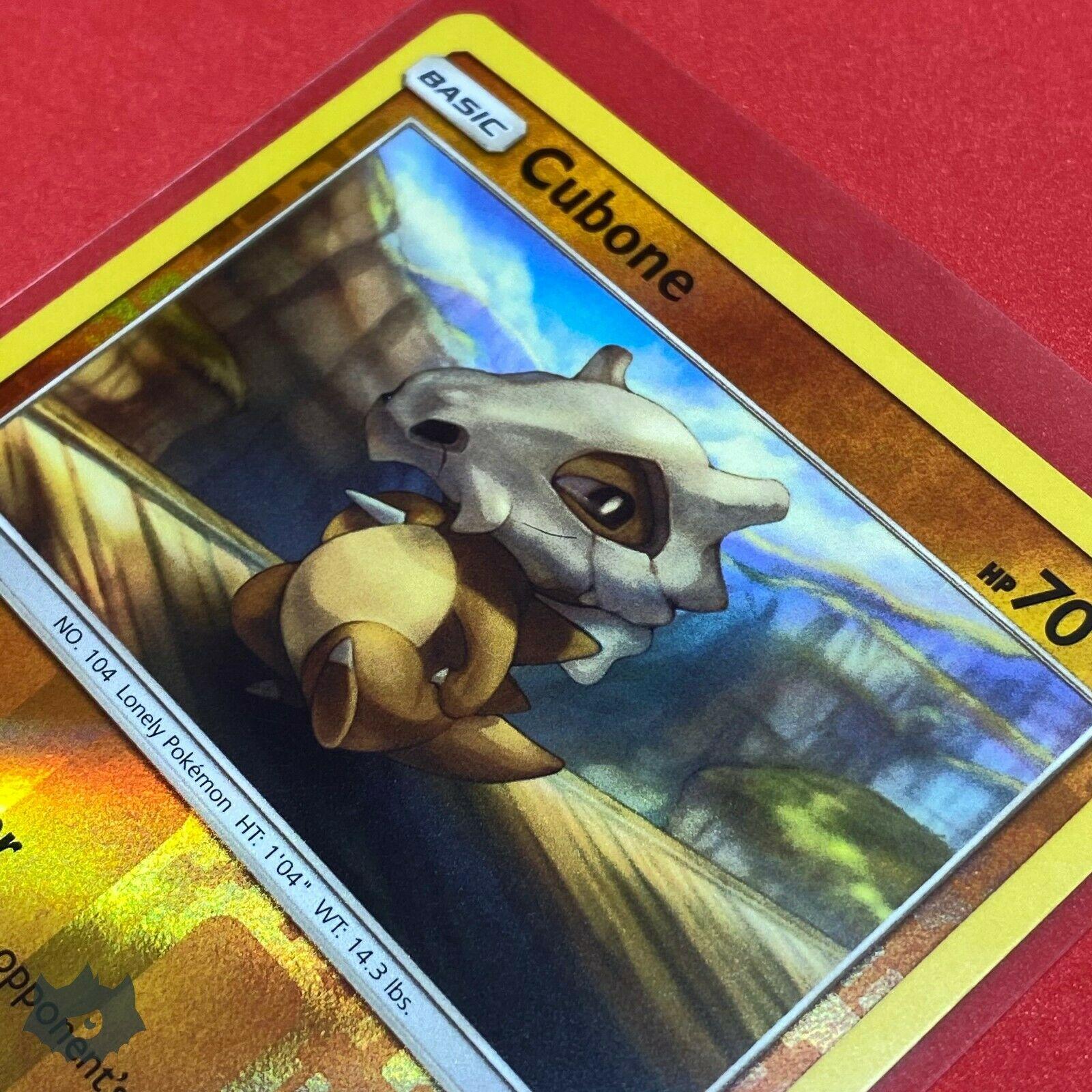 Cubone   52/111 Reverse Holo Foil Common Card Pokemon TCG S&M Crimson Invasion - Image 3
