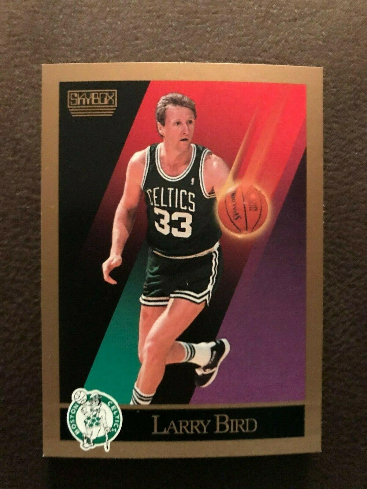 1990 SkyBox Larry Bird Card #14 SkyBox Very First Cards