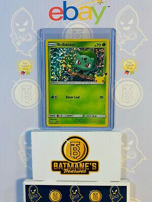 Bulbasaur 1/25 NM Mint 25th Anniversary McDonald's Promo Holofoil Rare Holo Card