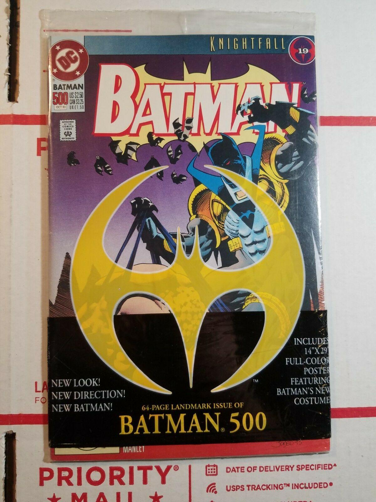 dc batman 9 knightfall Value $9.9   $429.90   MAVIN