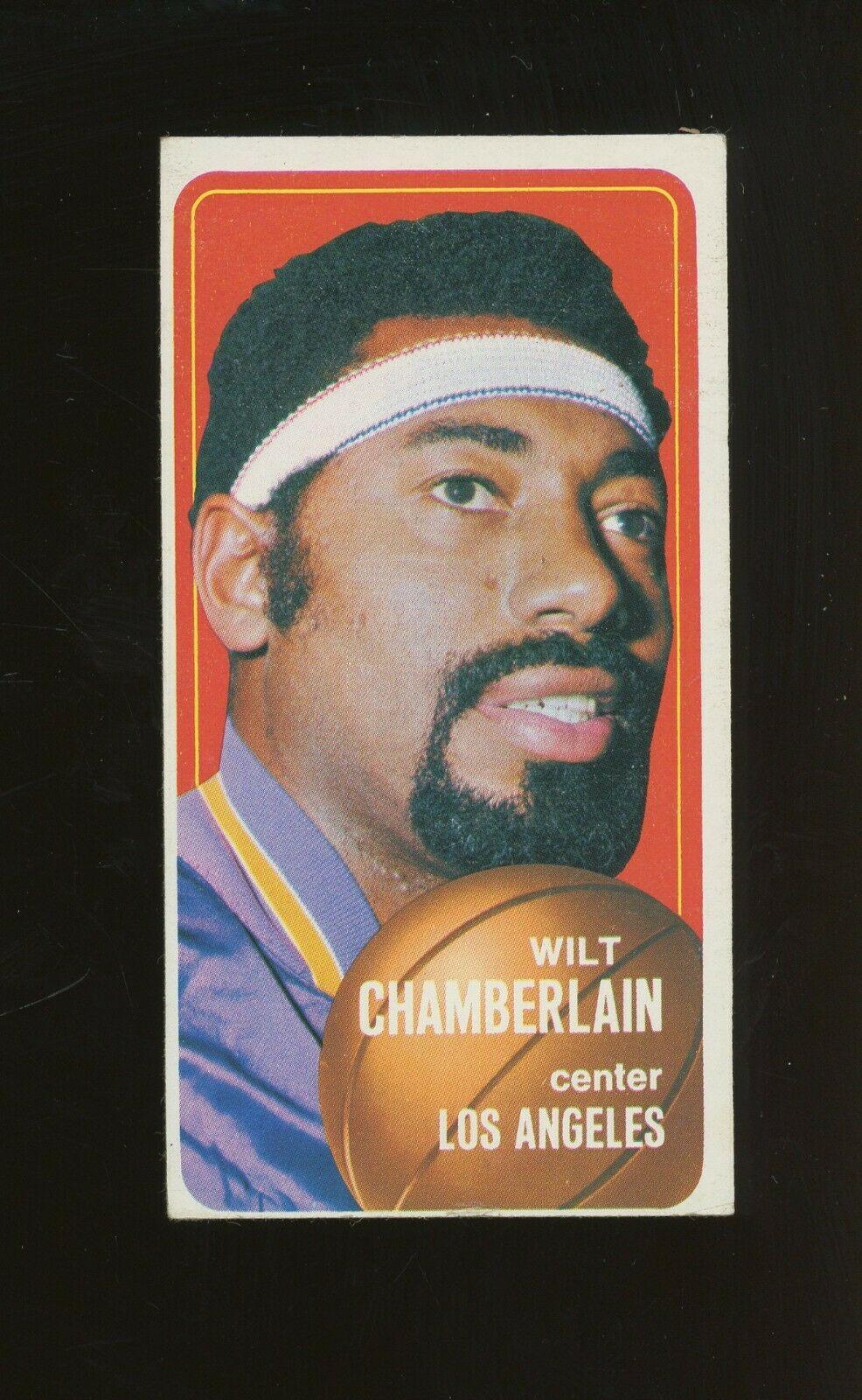 1970 Topps Basketball #50 Wilt Chamberlain Los Angeles Lakers HOF - Image 1