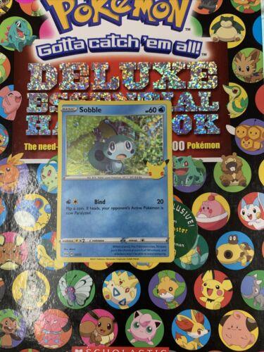 Sobble McDonald's Happy Meal Pokemon Card Holographic 2021 24/25 25thAnniversary