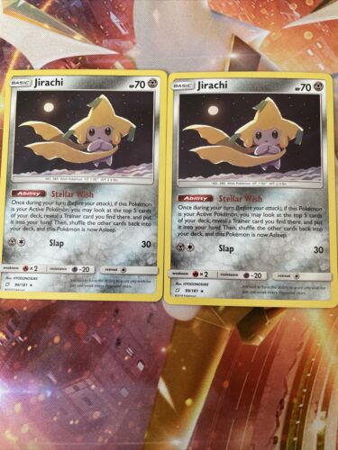 Steller Wish Jirachi 99/181 Non-Holo Rare Lightly Played