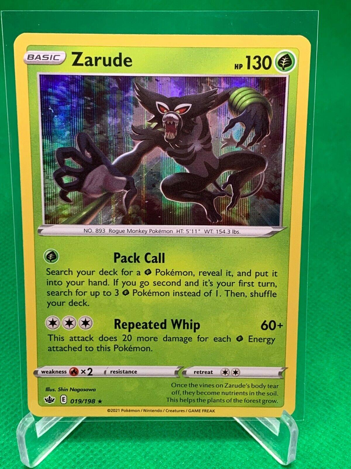 Pokemon - Zarude - Chilling Reign - 019/198 - Holo Rare