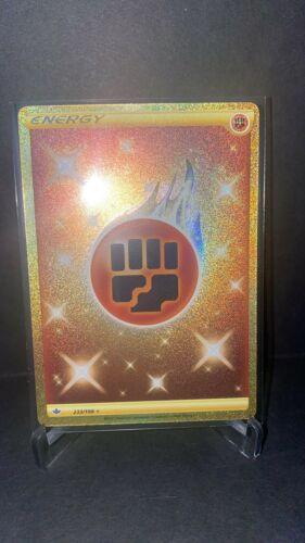 Pokemon Chilling Reign - Fighting Energy 233/198 Secret Rare Gold - Image 1