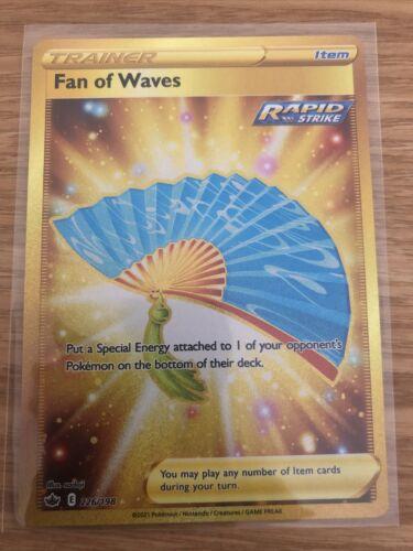 Pokemon - Fan of Waves - 226/198 - Chilling Reign - Secret Rare