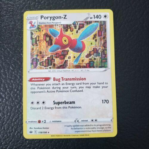 Pokemon Chilling Reign Porygon-Z Holo Rare 118/198