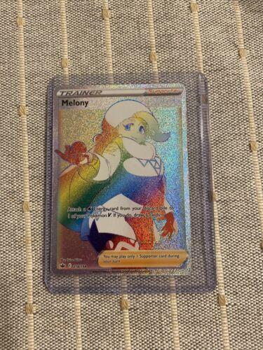 Melony Full Art Rainbow Rare Trainer Chilling Reign Pokemon 218/198 NM