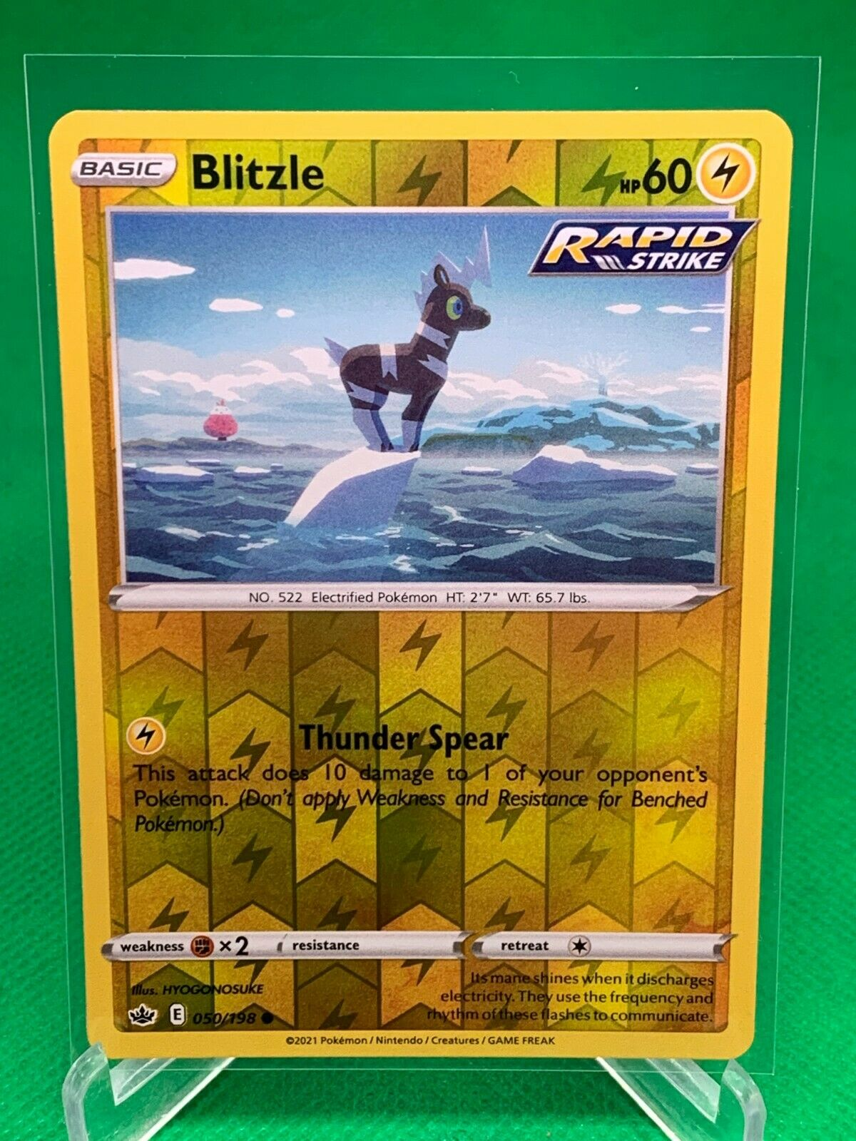 Pokemon - Blitzle - Chilling Reign - 050/198 - Reverse Holo
