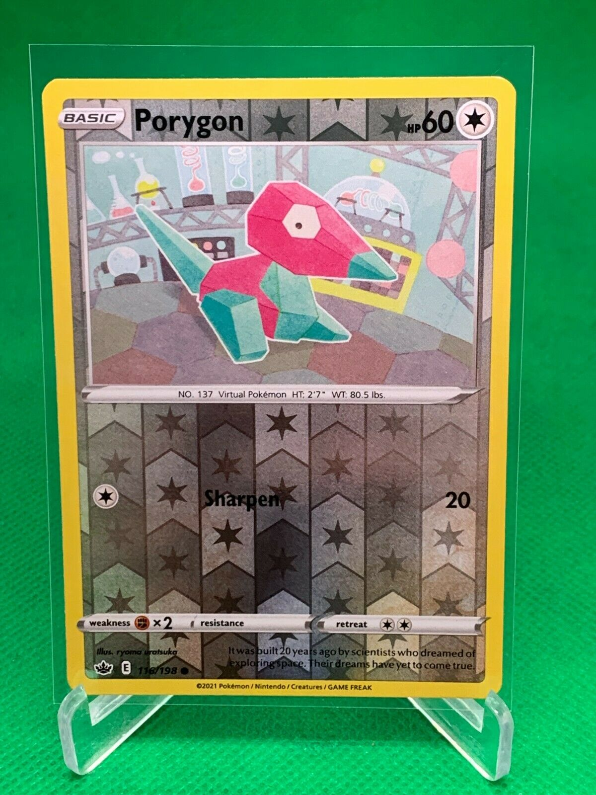 Pokemon - Porygon - Chilling Reign - 116/198 - Reverse Holo
