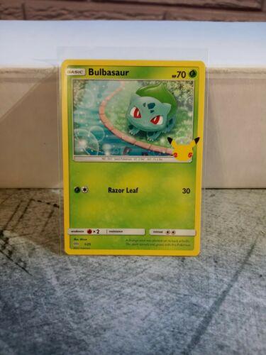 Pokemon Bulbasaur 1/25 25th Anniversary Mcdonald's Promo Card Non-Holo TCG