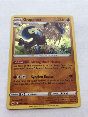 Grapploct 092/198 Holo Rare Pokemon Chilling Reign