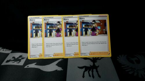 Pokemon Cards 4x Avery 130/198 Playset Chilling Reign NM/M