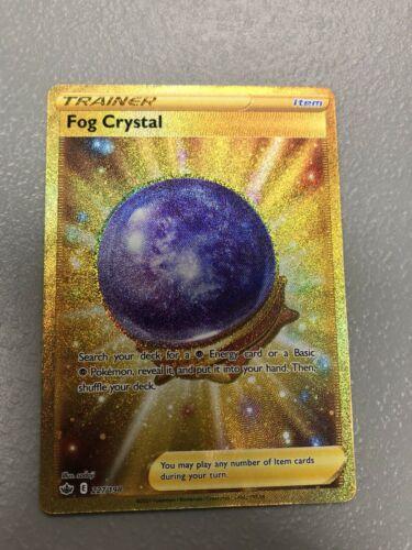 FULL ART Fog Crystal Secret Rare 227/198 TRAINER Chilling Reign Pokemon Card NM
