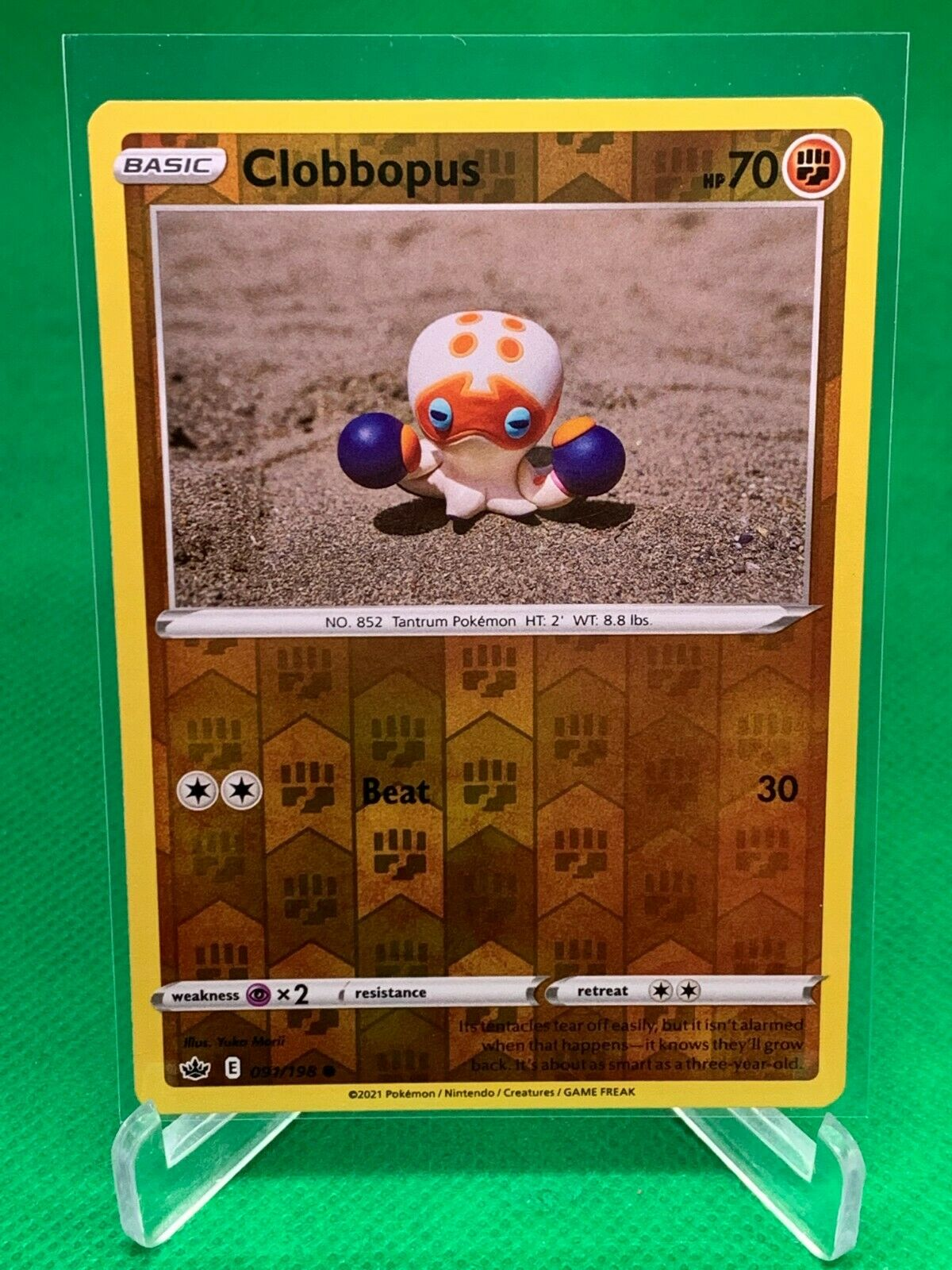 Pokemon - Clobbopus - Chilling Reign - 091/198 - Reverse Holo