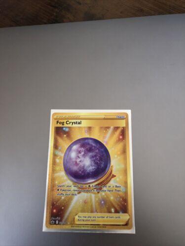 Pokemon - Fog Crystal - Gold Secret Rare Trainer - Chilling Reign 227/198