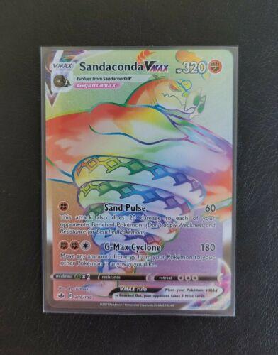 Sandaconda VMAX Secret Rare 206/198 Chilling Reign NM Pokemon Card
