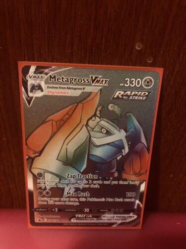 Pokémon Chilling Reign Metagross VMAX (Secret) 208/198 Secret Rare - Image 1