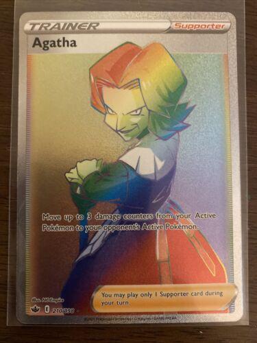 Agatha 210/198 * Chilling Reign * Secret Rare