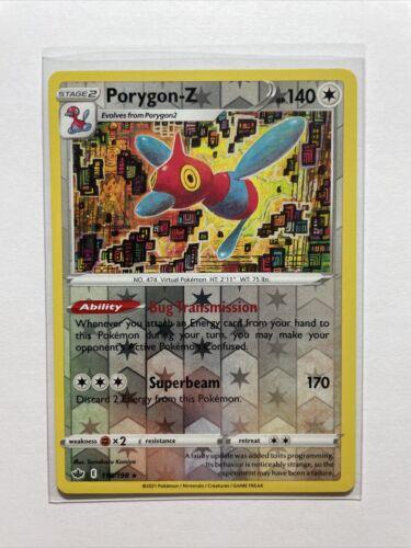 Porygon-Z 118/198 Reverse Holo Rare Chilling Reign Pokémon - MINT