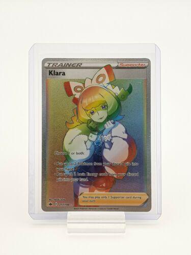 Klara 217/198 Chilling Reign Pokemon TCG Secret Rare NM
