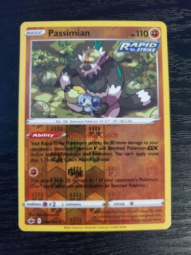Passimian 088/198 Chilling Reign Reverse Holo Pokemon Card NM